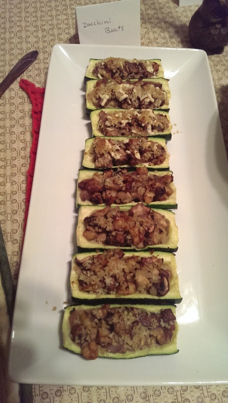 michelle's zucchini boats