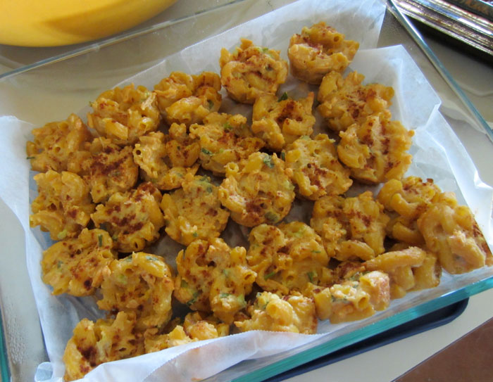 vegan mac and cheese bites
