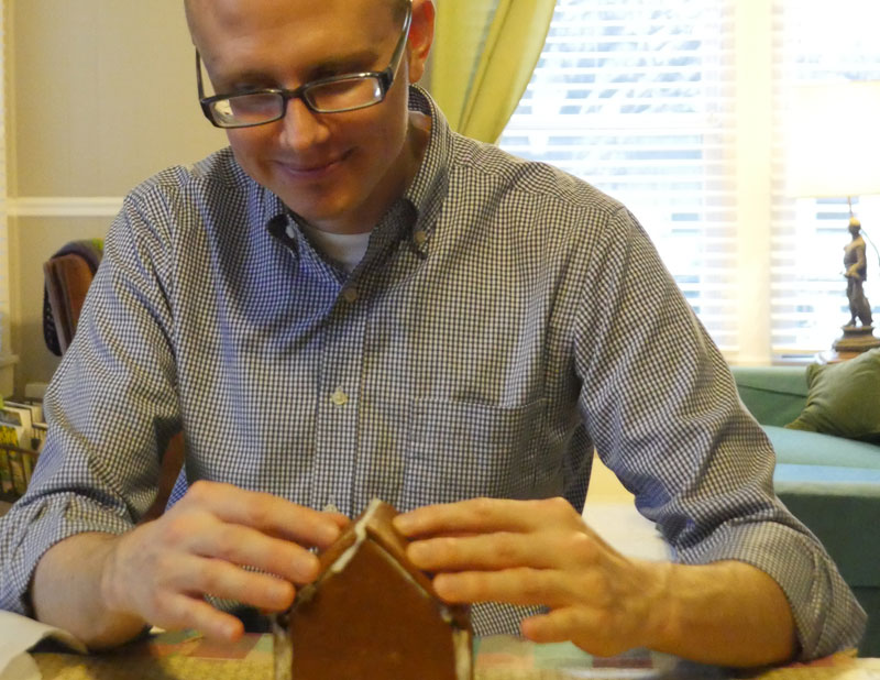 John the gingerbread builder