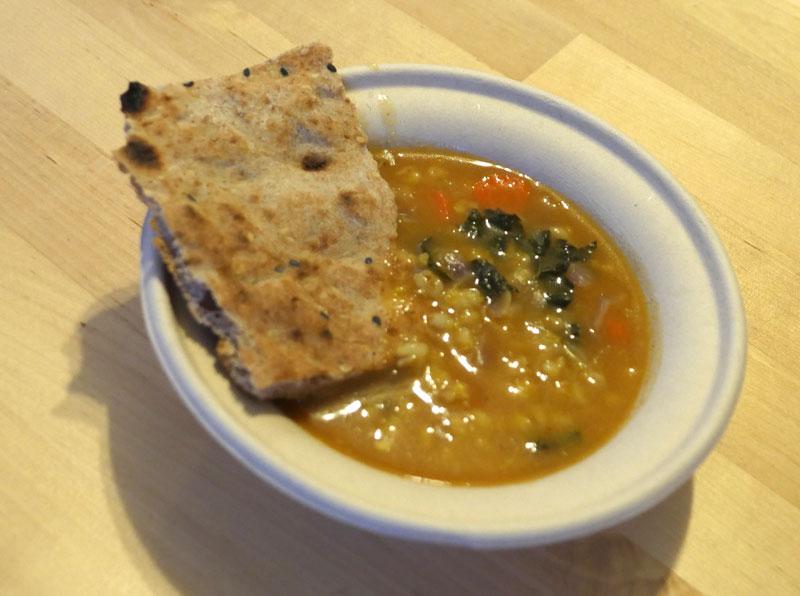 barley ginger soup