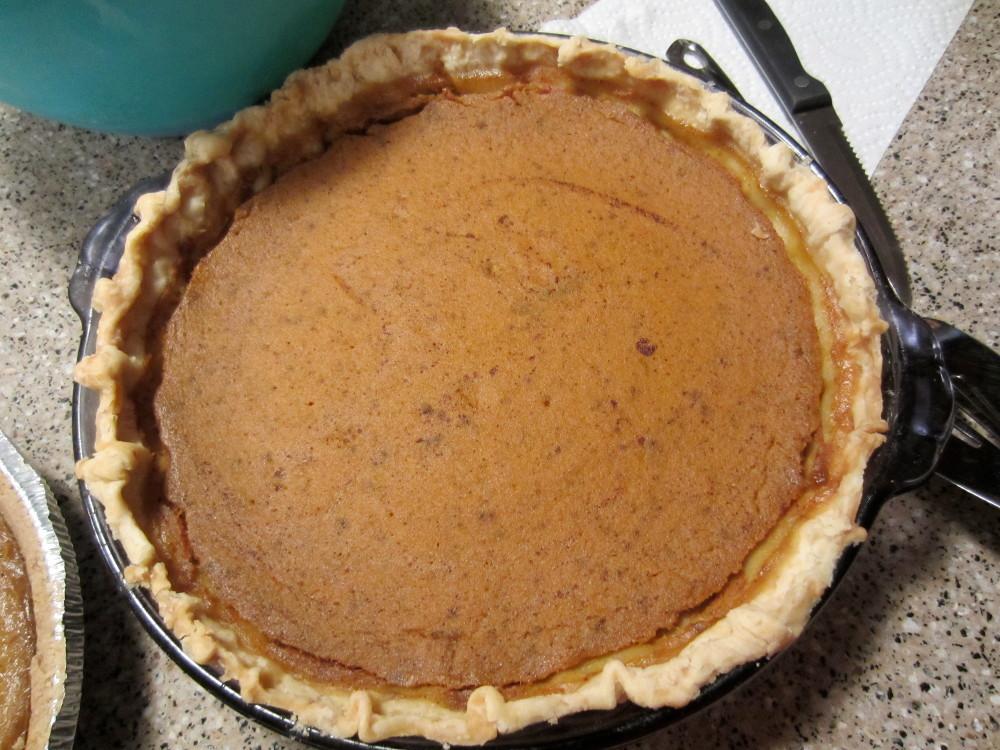 slynn's pumpkin pie