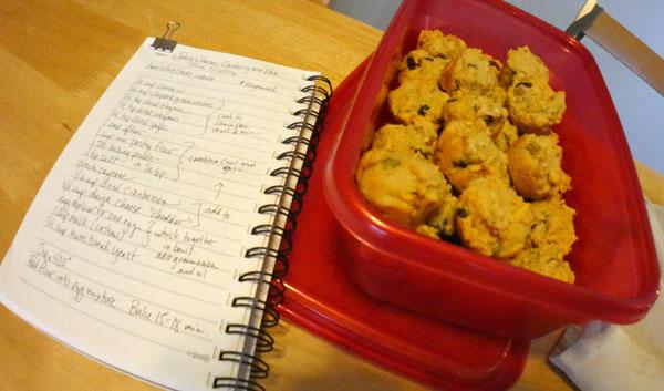 vegan mini muffins and recipe
