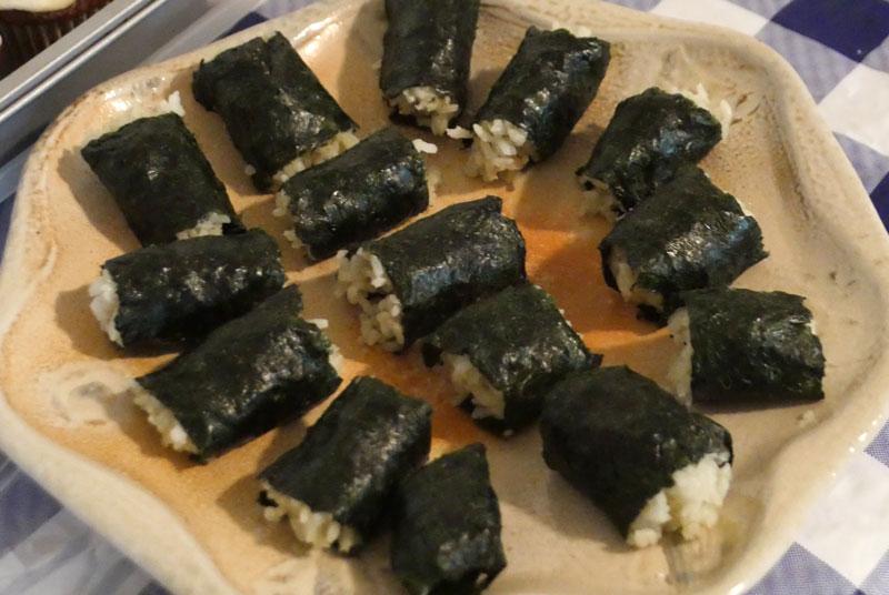 matcha sushi