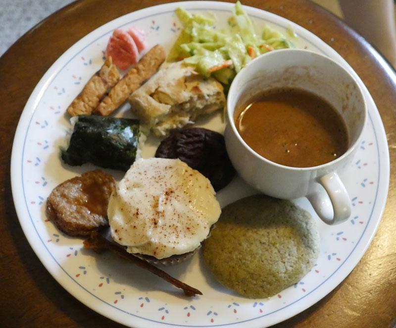 April 2015 vegan plate