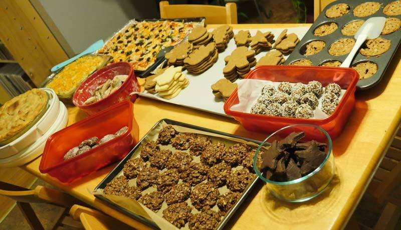 vegan pies and cookies