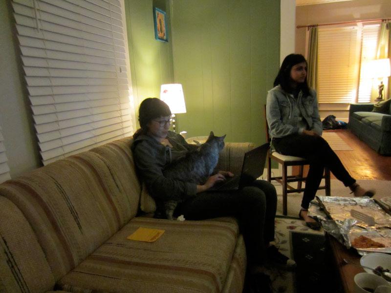 Priya, Lauren, and Hemi