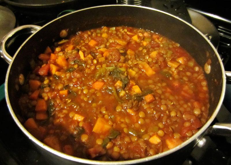 Slynn's veggie chili
