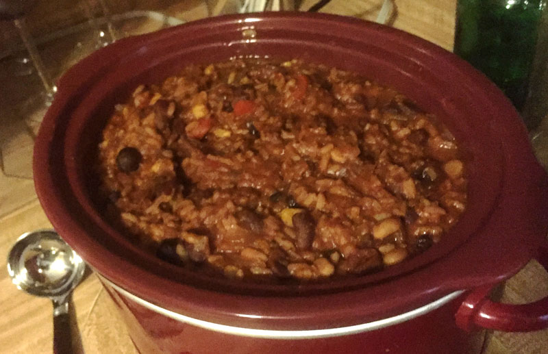 Taylor's cranberry chili