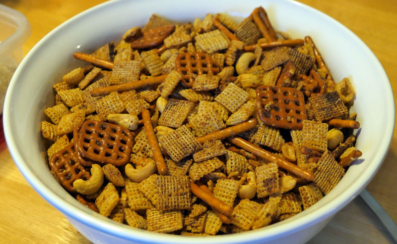 vegan chex mix