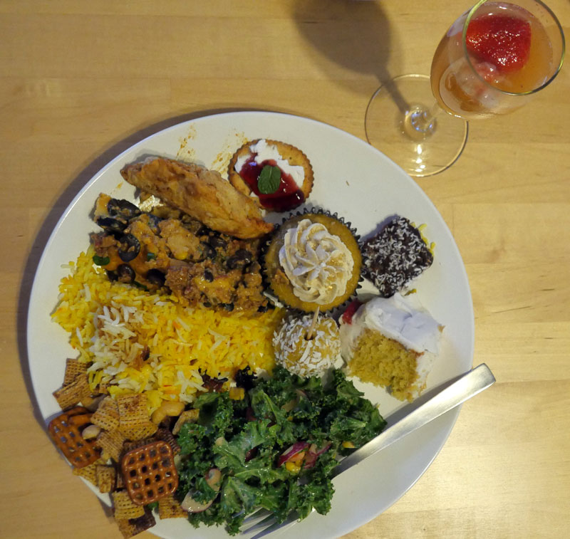 vegan plate April 2016