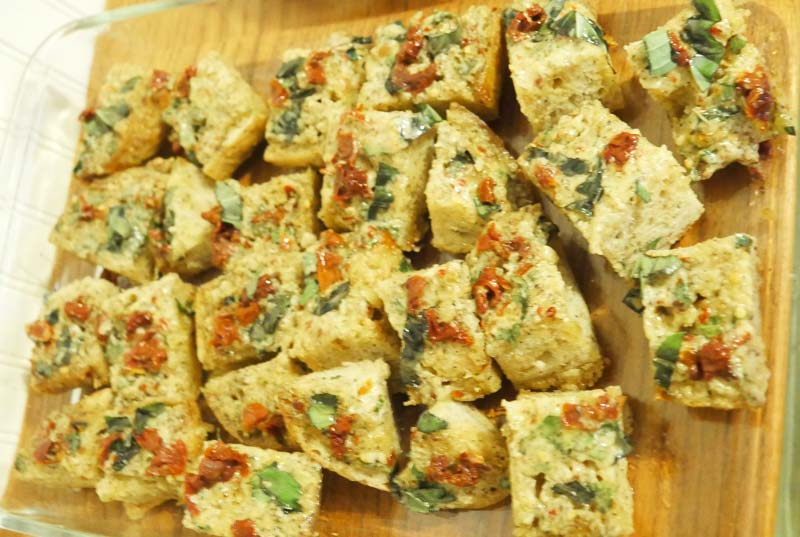 vegan garlic bread
