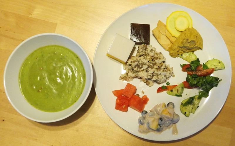 vegan cool foods plate