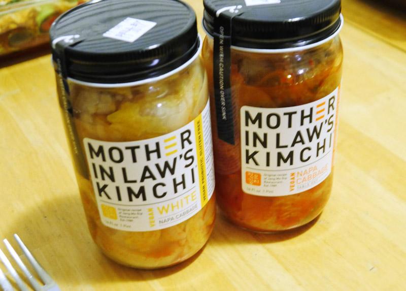 vegan Kimchi jars