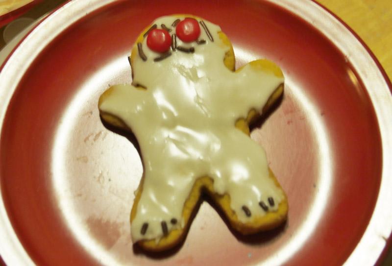 vegan red eyes cookie