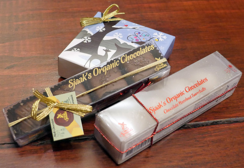 Sjaaks Organic Chocolates