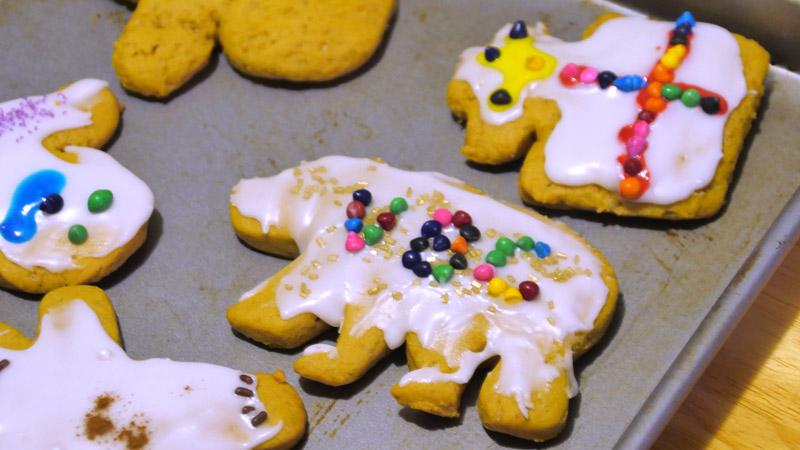 VBC bear cookie