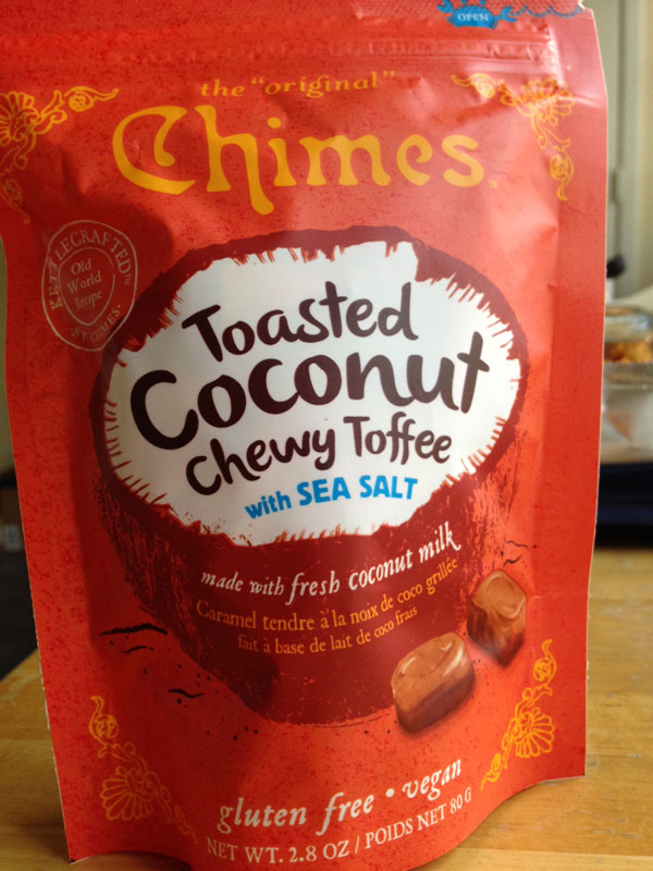vegan chimes chewy toffees