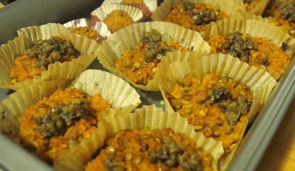 saffron lentil rice bites