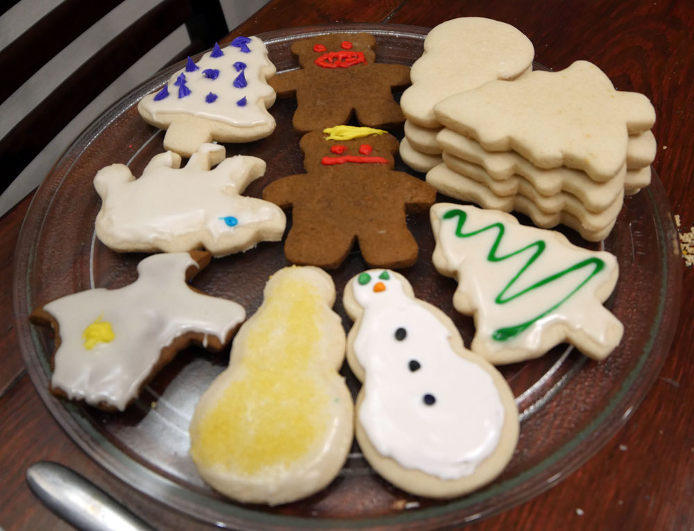 more vegan holiday cookies