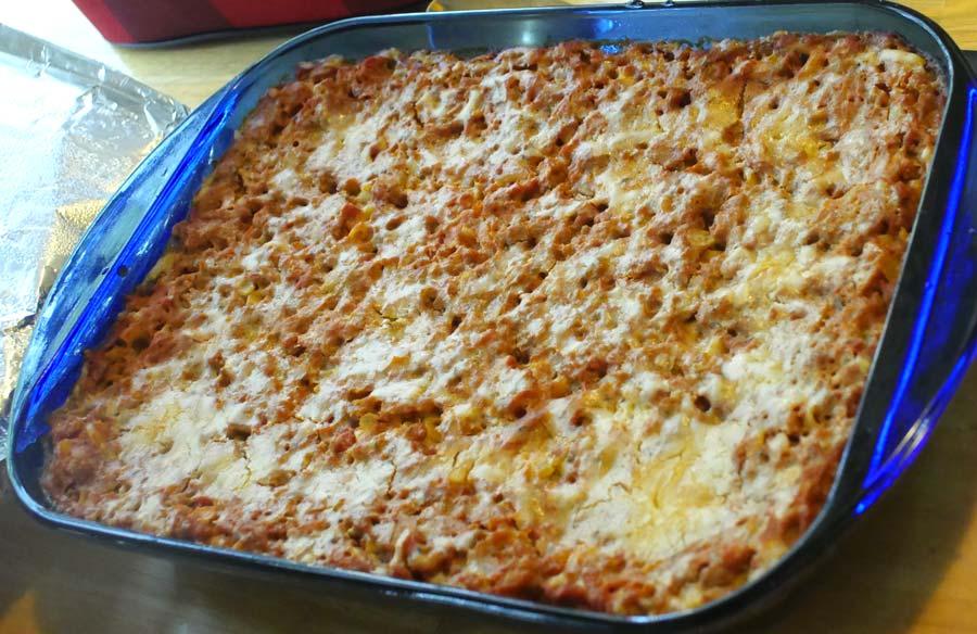 vegan macaroni casserole