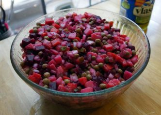 Ukrainian Beet Salad