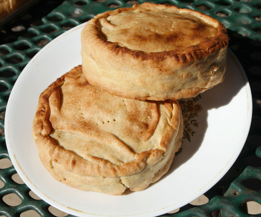 vegan meat pie