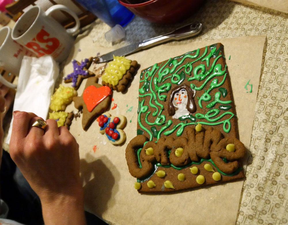 Caroline Selfie Cookie