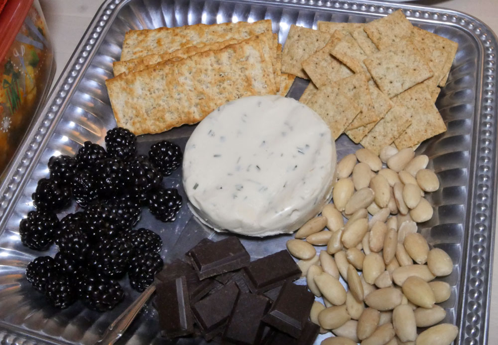 Miyoko vegan cheese board