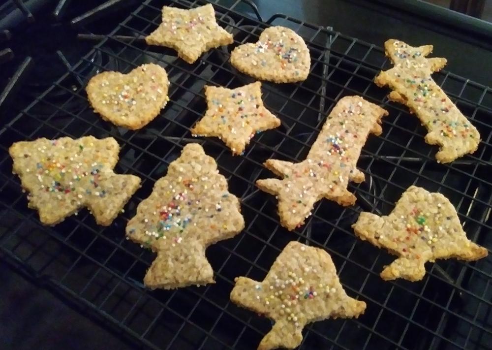 Vegan Animal  Cracker Cookies