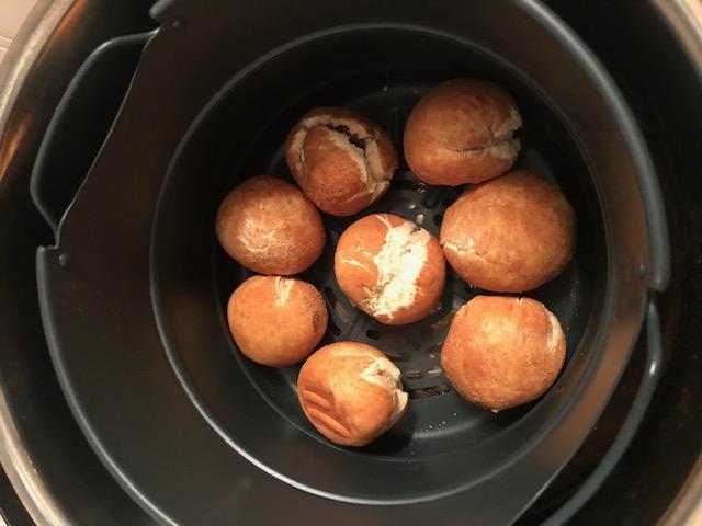 vegan donut holes in Instant Pot