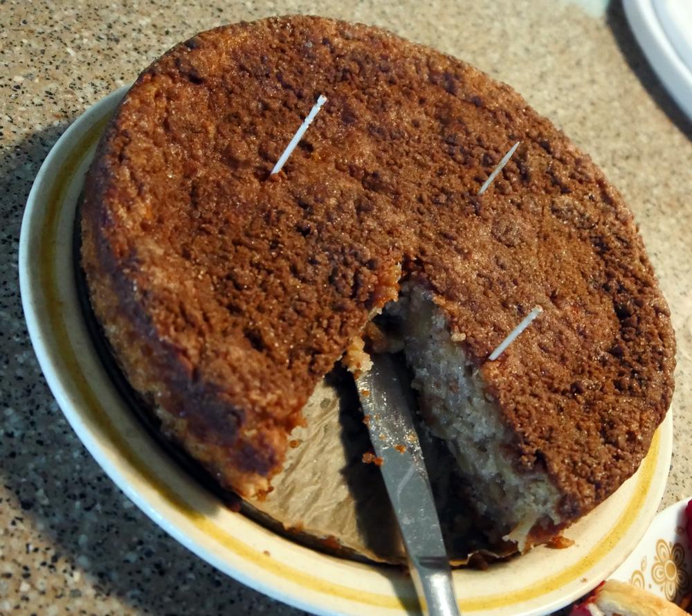 Cinn-ful apple cake