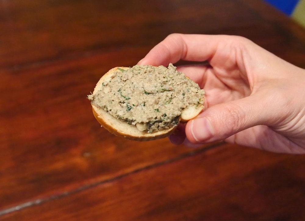 vegan walnut pâté