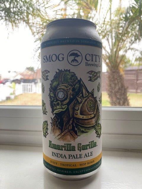 can of Amarilla Gorilla India Pale Ale